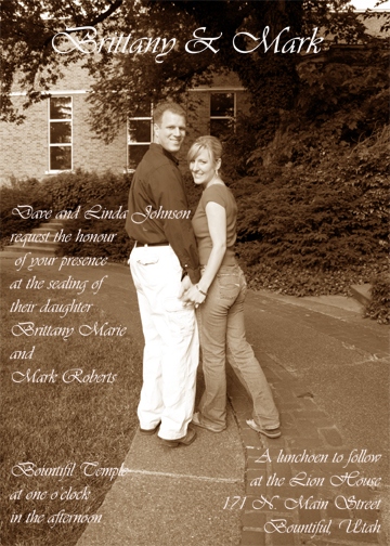 engagement photographer is slc, wedding invitations, photo montages